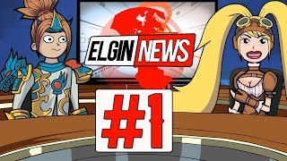 Elgin News #1 HEADLINES - CAR ACCIDENT IN THE LAND OF DAWN