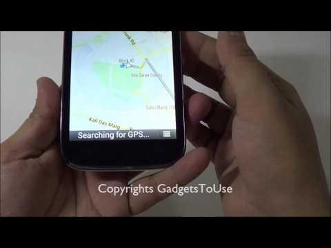 Solved - Fix GPS Navigation on Micromax A116 Canvas HD Using Assisted GPS Settings