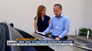 New device would allow law enforcement to prove you were texting and driving