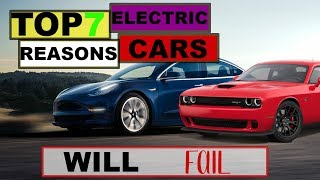 7 Reasons why Electric Cars will Fail!