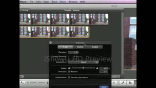 iMovie 09 Tutorial - Cutting and Effects