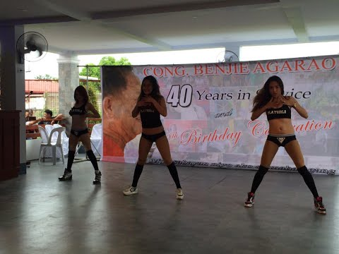 Sexy dancers in solon's party Tolentino's 'gift'?