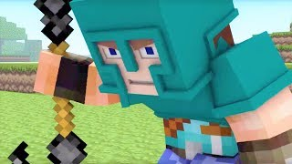 """Minecraft Song & Animation! """"Little Square Face 1-5"""" - Best Minecraft Songs and Music Video Series"""