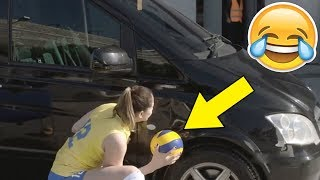 THE PLAYER IS JOKING !? Funny Volleyball Videos (HD)