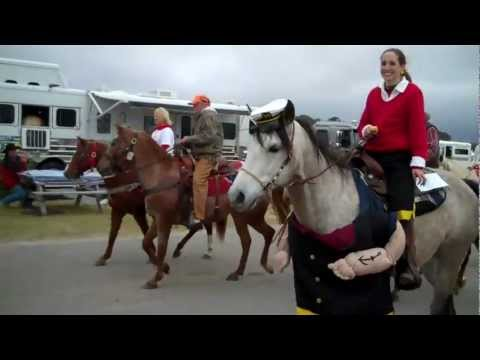 Horse parade @ Lakewood Campground with Dolly Parton