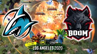TICKET TO THE GRAND FINAL !!! BOOM ESPORTS vs ADROIT - ESL One Los Angeles 2020 ONLINE DOTA 2