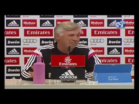 Conferencia de prensa de Carlo Ancelotti previa al Clásico