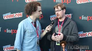 Sam Roberts & Justin Roiland on working with Dan Harmon, Rick & Morty, & more at NYCC 2013