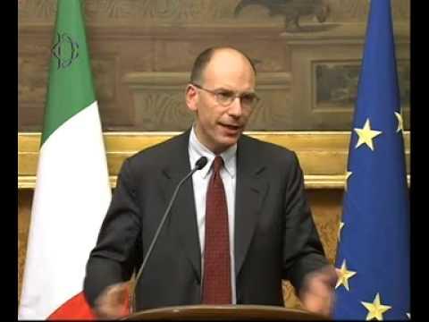 Enrico Letta Conferenza Stampa – Consultazioni Nuovo Governo – Video