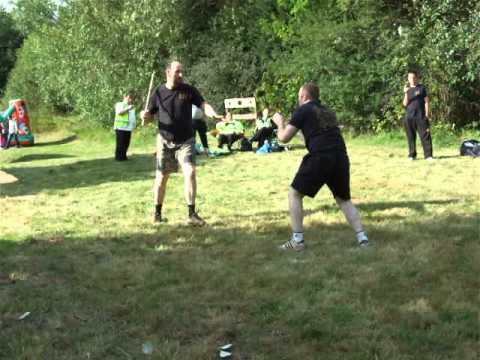 FMA  Eskrima Kali Arnis  small demo Kickfit Martial Arts Academy,Nottingham,UK Image 1
