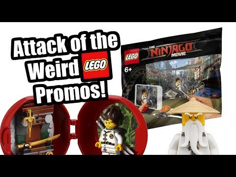 Attack of the Weird LEGO Promotional Sets!