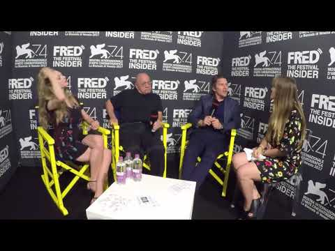 Paul Schrader, Ethan Hawke And Amanda Seyfried - FIRST REFORMED - 74 Venice Film Festival