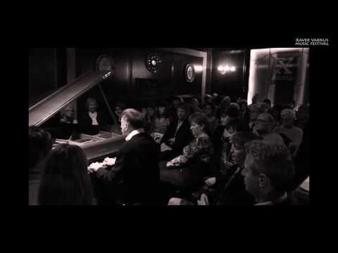 CHOPIN: FINAL FROM PIANO SONATA NO. 3 - TAMAS VASARY IN THE XAVER VARNUS MUSIC HALL