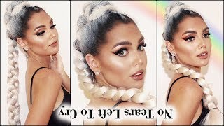 Ariana Grande Makeup & Hair Tutorial 2018 | No Tears Left To Cry