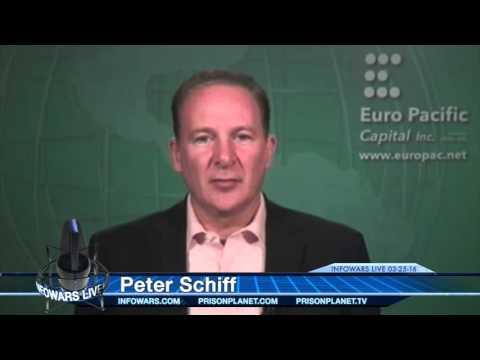Peter Schiff and Harry Dent Debate on Economy