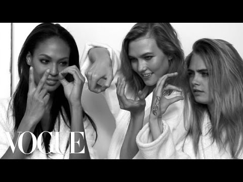 Karlie Kloss, Cara Delevingne, Joan Smalls, and More Talk Supermodels and Instagram - Vogue