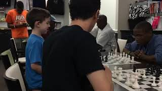 3rd video clip of Archer and Fabiano Caruana playing bughouse, July 29, 2015