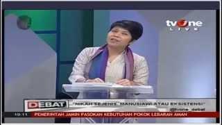 Debat [Live] Hak LGBT di Indonesia (Dede Oetomo dan Yuli I anggota MUI dan DPRD) TV One 06/07/2015