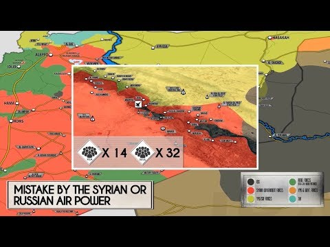 24 октября 2017. Военная обстановка в Сирии. Авиаудар по правительственной территории в Дейр-эз-Зоре
