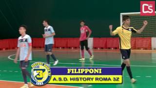 Calcio a 5, Finale Flami & Ale: History 3Z vs Lazio Calcetto, highlights e interviste