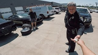 Cops caught me STEALING back MY wheels from the dealership!!