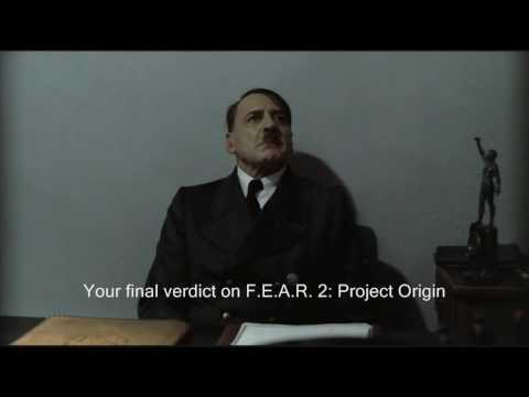 Hitler Game Reviews: F.E.A.R. 2: Project Origin