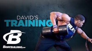 David Otunga's Training & Fitness Program - Bodybuilding.com