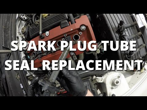 Spark Plug Tube Seal Replacement | Honda S2000