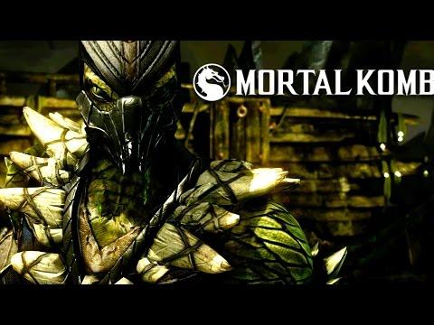 Reptile Gameplay Trailer - Mortal Kombat X