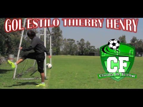 GOL ESTILO THIERRY HENRY