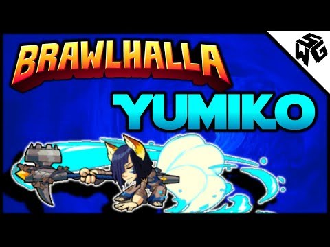 Experimental Yumiko 1v1's - Brawlhalla Gameplay :: Munched By A Gold!