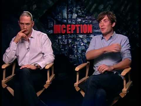 Cillian Murphy and Tom Hardy -  Inception Junket Interview (part1) en streaming