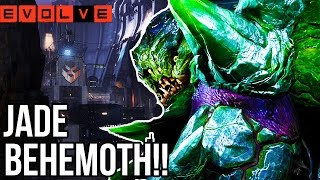JADE BEHEMOTH!! Evolve Gameplay Walkthrough - Multiplayer - Part 36!! (XB1 1080p HD)