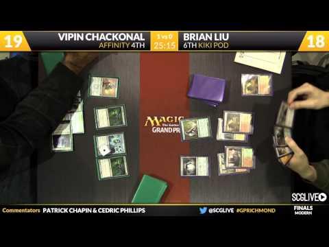 Grand Prix Richmond 2014 Finals: Brian Liu vs. Vipin Chackonal (Modern)