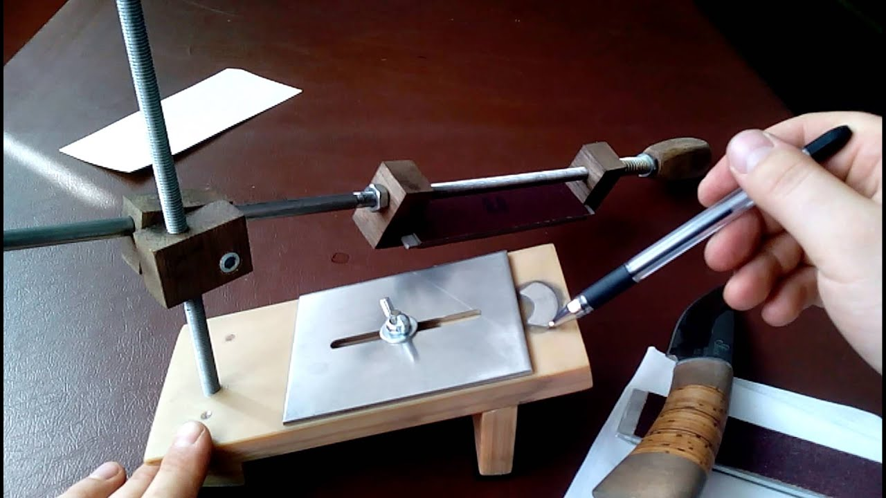 Точилка для охотничьих ножей своими руками 12