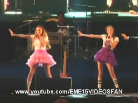 EME15 en Concierto Exa Puebla canta Wonderland - Desde Tu Adios - Solamente Tu