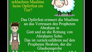 Learn German :  Das Opferfest - Eid Al Adha - Feast of the Sacrifice - Kurban Bayram