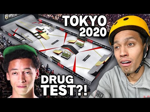Pro Skater Reviews Official 2020 Skateboard Olympics Rules