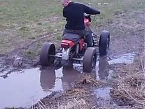 Самодельный квадроцикл из мотоцикла урала