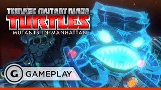 Mega Krang Boss Fight - Teenage Mutant Ninja Turtles: Mutants in Manhattan