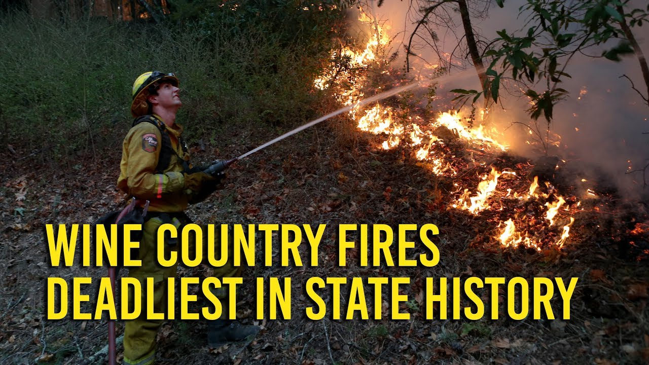 Wine Country fire deadliest in California history