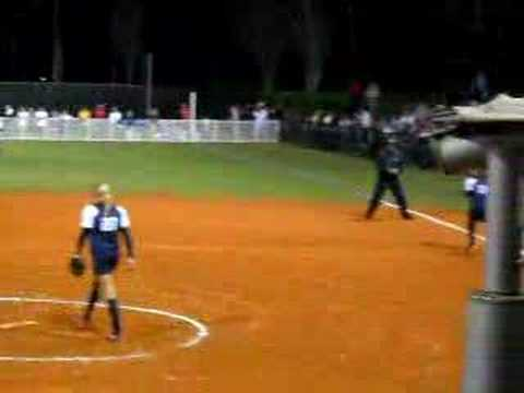 Jennie Finch pitching! Video