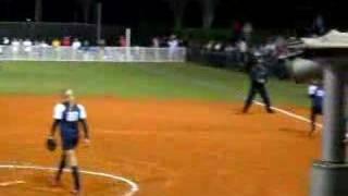 Jennie Finch pitching!