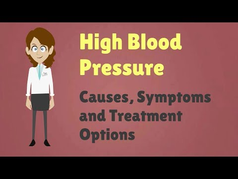 High Blood Pressure - Causes, Symptoms and Treatment Options