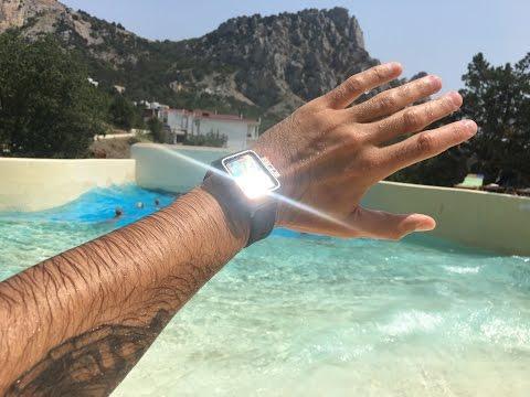 Благодаря встроенному gps, apple watch 3 подойдет как для бассейна, так и для открытой воды.