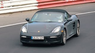 IS PORSCHE TESTING A 718 BOXSTER T AT THE NÜRBURGRING?