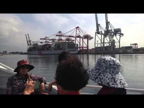 Take a Ride through the Port of Long Beach