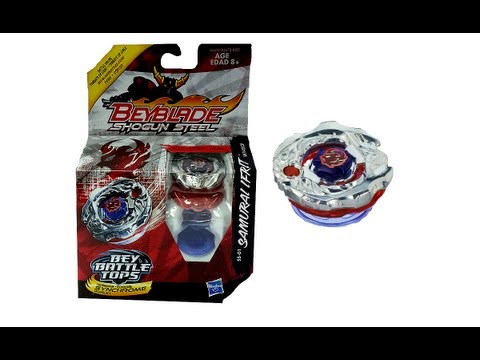 (CLOSED)Beyblade Shogun Steel SS-01 Samurai Ifrit W145CF Review Unboxing Giveaway  Exp August 4th