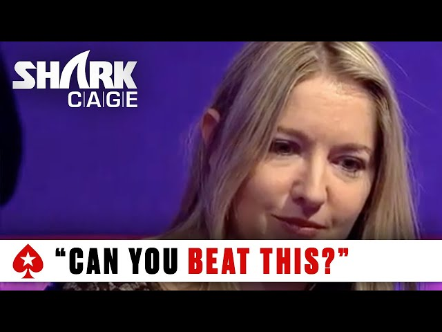 Coren Mitchell vs. Williams – The Bonus Cut: Shark Cage   PokerStars