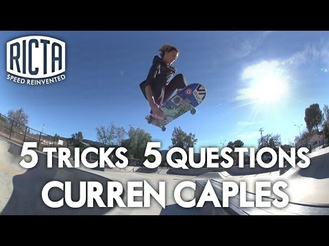 Curren Caples: 5 & 5 for Ricta Slix